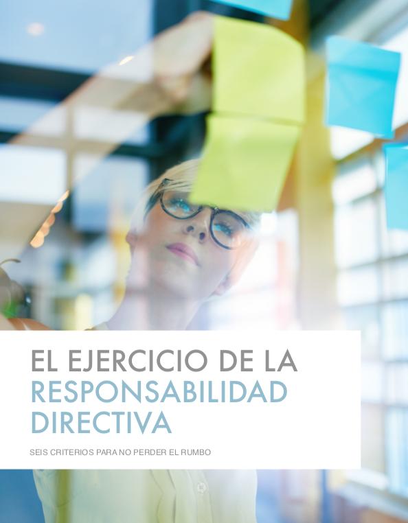 ejercicio responsabilidad directiva