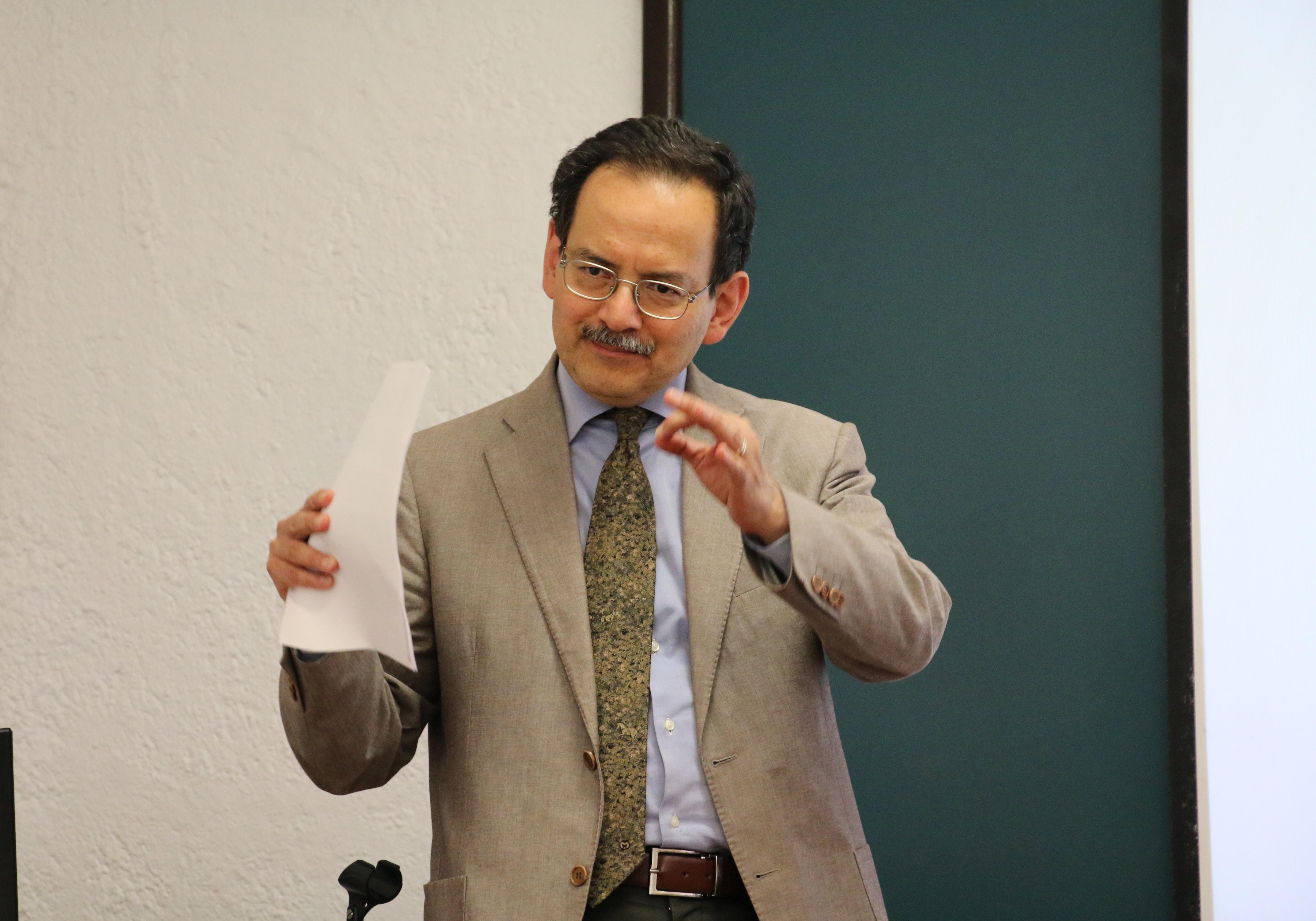 """Conferencia """"Elementos de relacionalidad en Octavio Paz"""" Dr. Rafael Jiménez Cataño"""